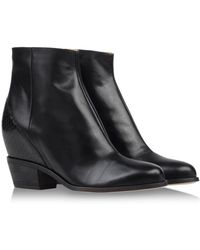 Mm6 By Maison Martin Margiela Ankle Boots - Lyst