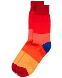 Thomas Pink - Ombre Stripe Socks - Lyst