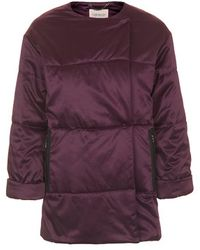 Topshop Premium Padded Jacket - Lyst