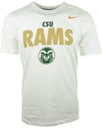 Nike Mens Short-sleeve Colorado State Rams T-shirt - Lyst