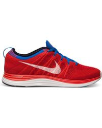 Nike Mens Flyknit Lunar1 Running Sneakers From Finish Line - Lyst