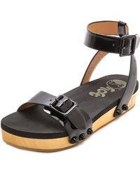 Flogg Noelle Flat Sandals - Lyst
