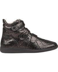 Maison Martin Margiela Glitter Triple-strap Sneakers - Lyst
