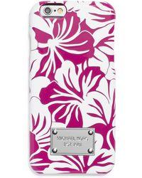 MICHAEL Michael Kors Floral Iphone 6 Case - Lyst