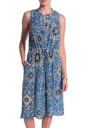 Sea Paisley Dress - Lyst