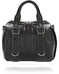 Alexander Wang | Rockie Grained-Leather Shoulder Bag  | Lyst