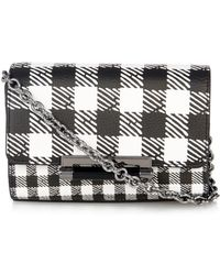 Diane von Furstenberg 440 Micro Mini Leather Cross-Body Bag - Lyst