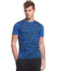 Versace Jeans Logo Graphic T-shirt - Lyst