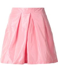 TOME Pleated Front Shorts - Lyst