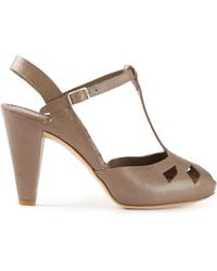 Roberto Del Carlo Heeled Sandals - Lyst