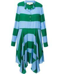 Stella McCartney Rugby Stripe Dress - Lyst