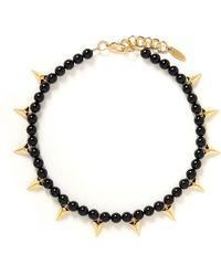 Joomi Lim - Stud Bead Necklace - Lyst