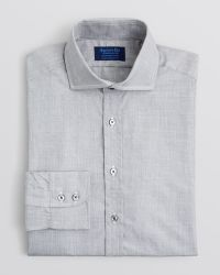 Hilditch & Key - Solid End-on-end Dress Shirt - Regular Fit - Bloomingdale's Exclusive - Lyst