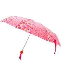 Marc By Marc Jacobs - Aki Flower Print Umbrella Knockout Pink Multi - Lyst