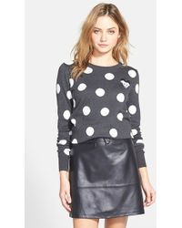 French Connection Women'S 'Polka Mouse' Cotton Blend Sweater - Lyst