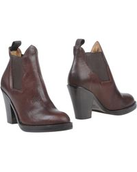 Acne Studios Ankle Boots - Brown