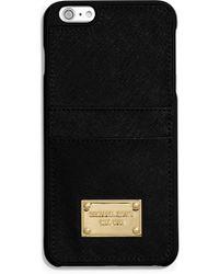 MICHAEL Michael Kors - Saffiano Leather Iphone 6 Plus Case - Lyst