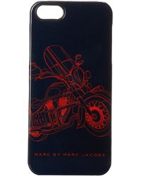 Marc By Marc Jacobs Motorcycle Print Phone Case - Lyst