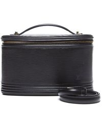Louis Vuitton Preowned Black Epi Leather Nice Cosmetic Case - Lyst