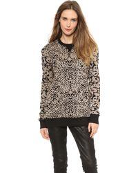 Rag & Bone Amoeba Print Sweatshirt - Lyst