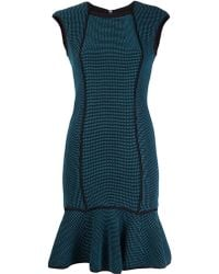 Yigal Azrouël Waffle Knit Dress - Lyst