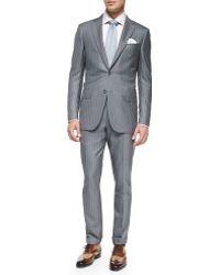 Ermenegildo Zegna Trofeo 600 Stripe Suit - Lyst
