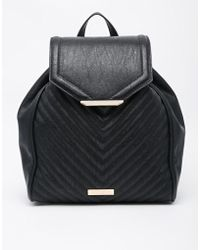Carvela Kurt Geiger - Quilted Backpack With Chain Detail - Lyst