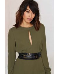 Nasty Gal | Ada Collection Elena Layered Belt | Lyst