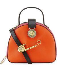 Versus  Safety Pin Box Bag - Lyst