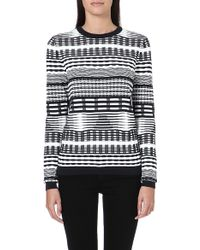 Opening Ceremony Jagged Lines Jumper - Lyst