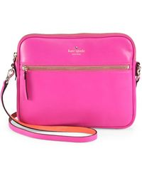 Kate Spade Bryce Leather Ipad Case - Lyst