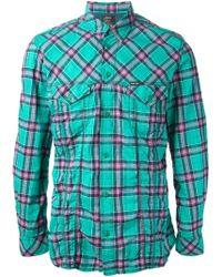 Diesel Green Stulipa Shirt - Lyst