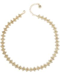 House Of Harlow 1960 Reversible Ascension Collar Necklace - Black - Lyst
