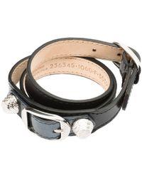 Balenciaga Holiday Collection Giant Bracelet Triple Tour - Lyst