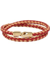 Mulberry Double Wrap Tubular Bracelet - Lyst