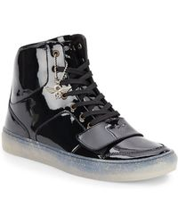 Creative Recreation Patentleather Hightop Sneakers - Lyst