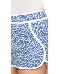 Ella Moss - Debbie Shorts - Azul - Lyst