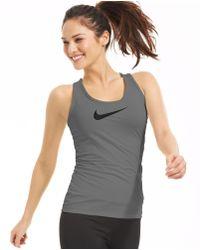 Nike Pro Dri-Fit Tank - Lyst