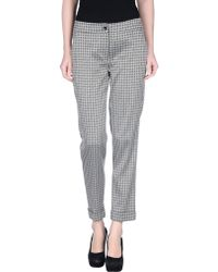 Etro Casual Trouser gray - Lyst