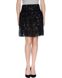 Miu Miu Knee Length Skirt - Lyst