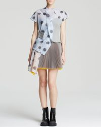 Marc By Marc Jacobs Dress - Blurred Dot Bubble Wrap Three Fold - Lyst