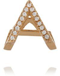 Wendy Nichol 14-Karat Gold Diamond Earring - Lyst