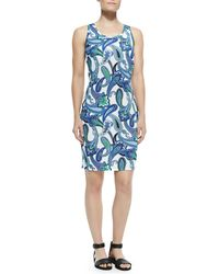 Etro Sleeveless Paisley Tank Dress - Lyst