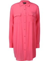 DKNY Long Sleeve Shirt - Lyst