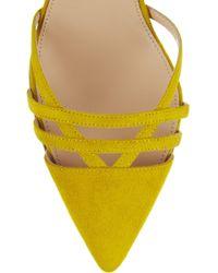 J.Crew | Audrey Suede Court Shoes | Lyst