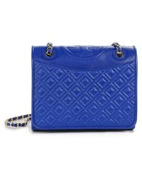 Tory Burch 'Fleming' Quilted Shoulder Bag - Lyst