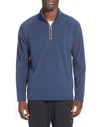 BPM Fueled by Zella - Half Zip Fleece Pullover - Lyst