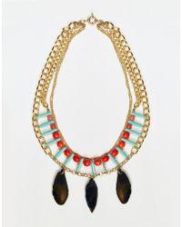 Nali - Turquoise Bead Pendant Necklace - Turquoise - Lyst