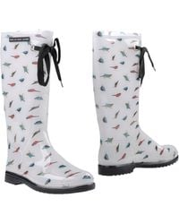 Marc By Marc Jacobs Boots - White