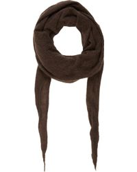 Barneys New York Pointed Cashmere Scarf - Lyst